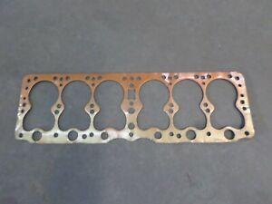 1932 essex 6 1933 hudson super 6 nos cylinder head gasket 37223