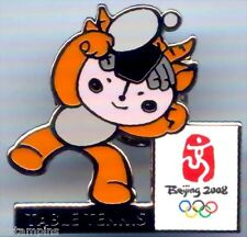 """2008 Beijing Olympic """"TABLE TENNIS"""" Mascot Sports Pin"""