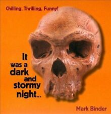 FREE US SHIP. on ANY 2 CDs! NEW CD Mark Binder: It Was A Dark and Stormy Night