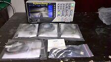 4 Channels 2GSa/s 200MHz Digital Oscilloscope 7'' TFT LCD 800x480 USB DSO7204B