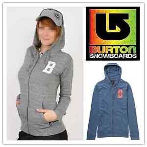 BURTON Premium Womens Hoodie / Hoody / Jumper - Brand New - RRP: $89.00
