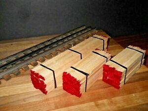O scale O gauge flatcar load real white pine lumber handmade