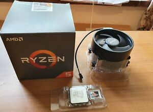 Amd ryzen 5 2600X 3.6-4.2GHZ 6 Core Processor With Original Box And Cooler