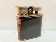 RARE! WWII VINTAGE WORKING BLACK RONSON WHIRLWIND MILITARY LIGHTER  / WARTIME