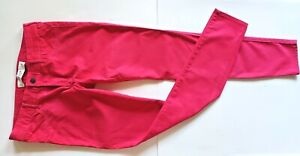 NWOT Abercrombie & Fitch hot pink fuchsia stretch skinny Jeans pants, sz.4/ 27