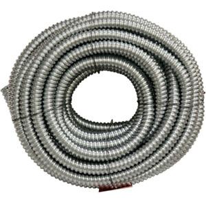 3/4 x 100ft Flexible Metallic Conduit Galvanized Steel Corrosion Resistance New