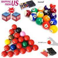 "2-1/16"" USA Snooker Set Complete 22 Ball / Billiard Pool Balls 2 1/4"" Inch SET"