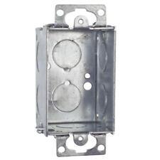 "(1) pcs RACO Electrical Box, Galvanized Zinc 2"" X 2"" X 3"" Nominal"