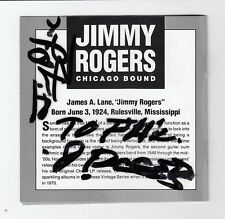 "Buddy Guy, Jimmy Rogers, & Others Signed ""Chicago Bound"" CD Jacket. PSA/DNA*"