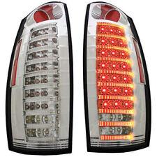 New Chrome LED Tail Light Set For 07-13 Chevrolet Avalanche GM2800222 GM2801222