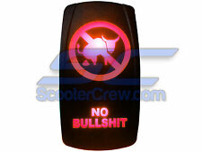 Laser Rocker Switch Red Carling Style BS House Boat Marine On Off Pontoon Party