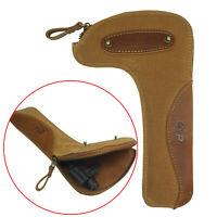 Waxed Canvas Rifle Bolts Bag, Bolt Holder Pouch Gun Holster Case Cover Vintage