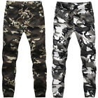 Mens Camo Casual Jogger Dance Sportwear Baggy Harem Pants Trousers Sweatpants