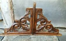 Wooden Carved Corbel Shelf Brackets