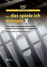 Kirchenorgel Orgel Noten : Das spiele ich morgen 10 (manualiter) - B-WARE