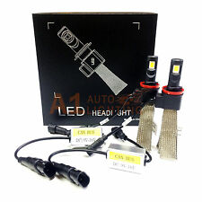 NEW Fanless Canbus H11/H9/H8 30W LED Kit 6000K White Bulbs Headlight/Fog Light