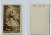 A. Ken, La vicomtesse de Rancher CDV vintage albumen carte de visite,  Tirage