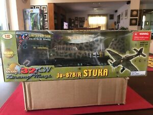 Ultimate Soldier 1/32 scale German Ju-87 New, Unopened, mint. Limited Ed.