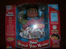 NICK JR FISHERPRICE DORA THE EXPLORER DORA KNOWS YOUR NAME