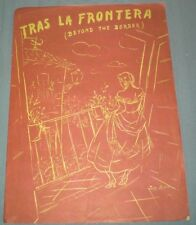 1950's Beyond the Border Tras La Frontera English & Spanish lyrics Mexico
