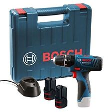 BRAND NEW BOSCH GSB 120-LI PROFESSIONAL DRILL 12V WITH 2X1.5 BATTERY, CARRY CASE