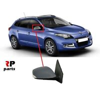 FOR RENAULT MEGANE III 08-16 WING MIRROR ELECTRIC HEATED PRIMED 8 PIN RIGHT O/S