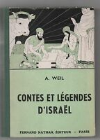 Contes et Légendes d'ISRAEL. Editions Nathan 1951.