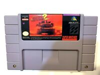 Super Battletank 2 SUPER NINTENDO SNES Game Tested + Working & Authentic!