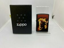 More details for genuine zippo limited edition lighter 36/250 electric guitar musician ex display