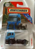 Matchbox '13 Ford Cargo Blue Semi Truck