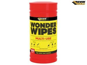 WONDER WIPES MULTI-USE CLEANING WIPES 100pk EVER BUILD