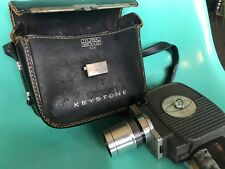Vintage Movie Camera Keystone K-606 Zoom 8mm  with Handle & Case