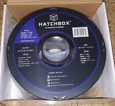 HATCHBOX PLA 3D Printer Filament - 1 kg Spool - 1.75 mm - True Blue - Sealed