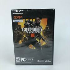 Call of Duty Black Ops 4 PC 2018 Walmart Exclusive Brand New Sealed