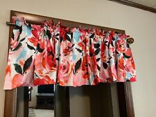 Jcp Home Madison Collection Jenna Floral Lined Valance 84 W x 15 L Multi