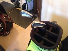 Extremely Rare Wilson Prototype forged 3 and 5 irons S flex steel shafts