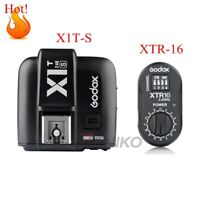 Godox X1T-S TTL HSS 2.4G Flash Transmitter + XTR-16 USB Receiver Kit For Sony