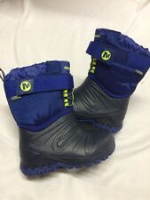 MERRELL Boys Thermal Boots Select Dry Size 7,EUR Size 23.5