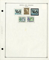 Kenya Uganda & Tanzania Loaded 1935 to 1990s Clean Mint & Used Stamp Collection