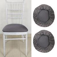 2x Spandex Stretch Chair Copertura Di Sede Sala Da Pranzo Di Nozze Sedia Fodera