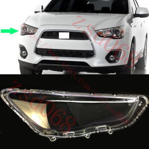 1x Right Side Headlight Transparent Cover For MITSUBISHI OUTLANDER Sport 2013-15