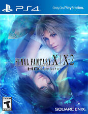 Final Fantasy X & X-2 HD Remaster PS4 Game Brand New Sealed