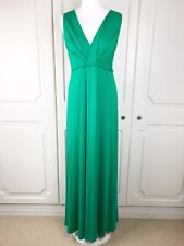 Phase Eight Abby Maxi Dress in Green Size 10 BNWT