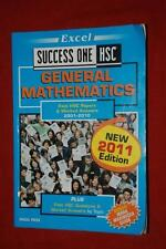 HSC General Mathematics Success One 2001-2010 Past Papers 2011 EDITION. GR8 COND