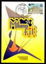 Italy 1999: milanofil 1999-Official Postcard Poste Italiane