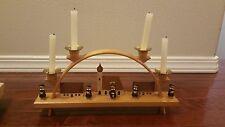 Erzgebirge Expertic 01204 Candle Arch German Carolers Richard Glaesser Vintage