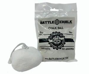 BattleChalk Refillable Chalk Ball 56g Rock Climbing Weightlifting Gymnastics Gym