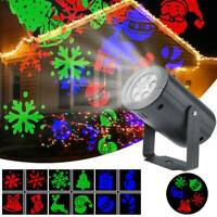 Christmas LED Projector Moving Laser Light Outdoor Garden XmasWonderland Lamp
