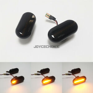 Side Body Marker LED Dynamic Light For Benz Smart Fortwo W453 C453 A453 Renault