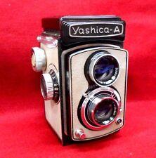 VINTAGE YASHICA-A TLR 6X6 CM CAMERA 3.5/80MM ...NICE